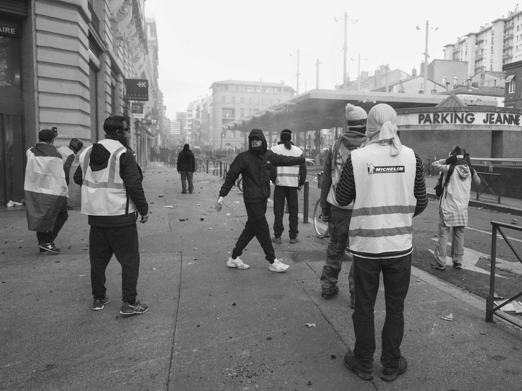 Yellow Vests Riot France  2018