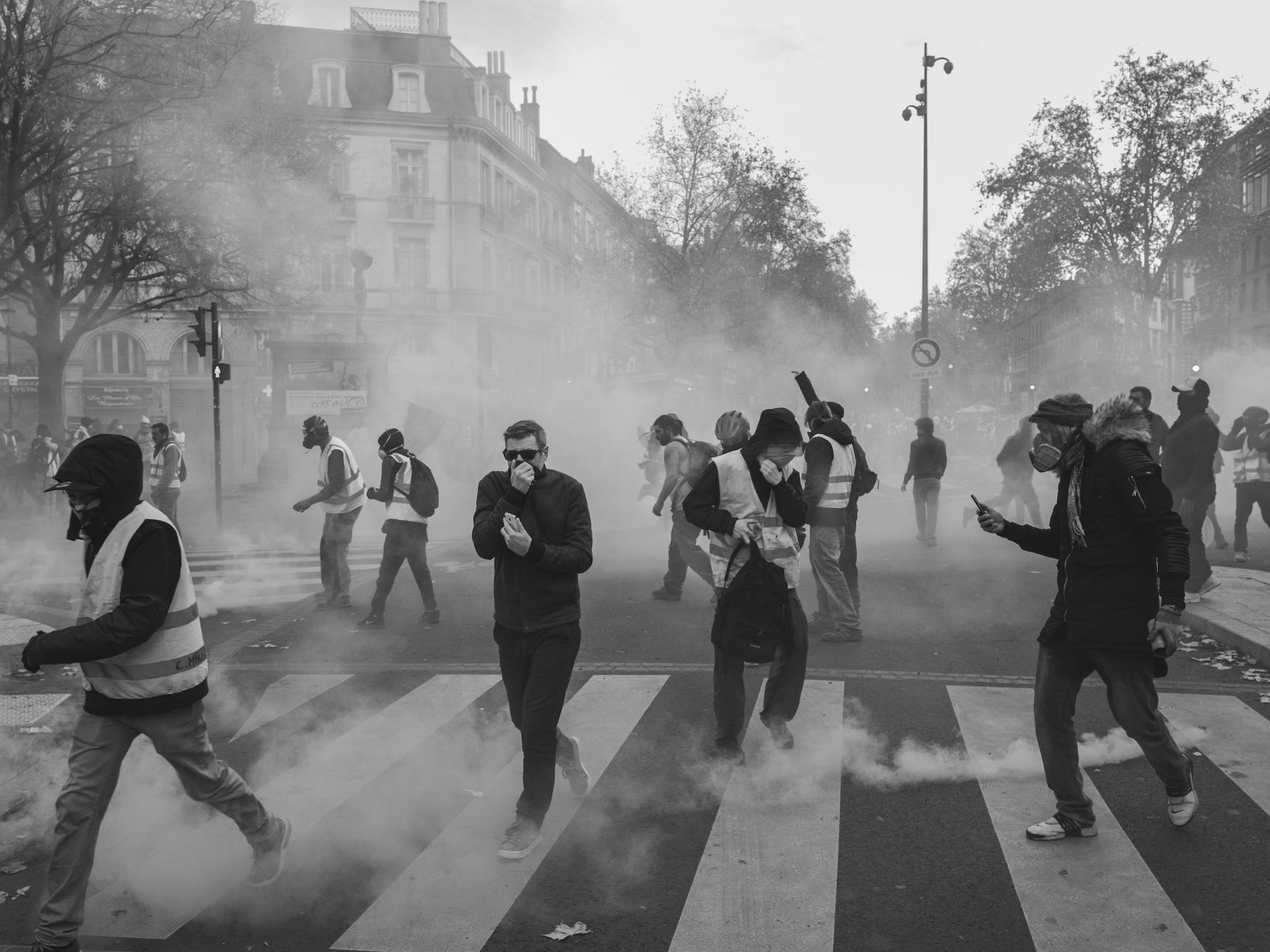 Yellow Vests riot in France 2018