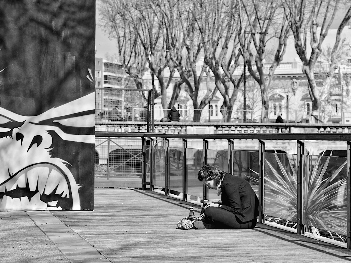 Street Photography in Perpignan, France 2021