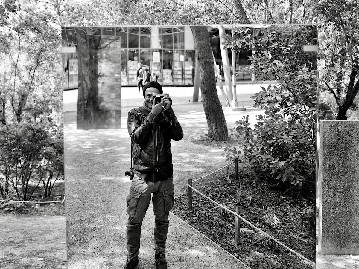 Laurent Bourrelly selfie in Paris 2019